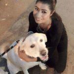 Rishima Sidhu Dog Lover