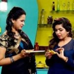 Sadhika Venugopal in cookery show 'Taste Time'