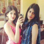 Sakshi Malik with her sister Ayushi Malik