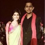 Sanjana Sanghi with her brother Sumer Sanghi