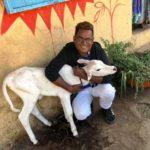 Sanjay Bairagi, an animal lover