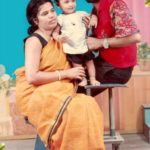 Sayan Ghosh (Childhood) with his parents