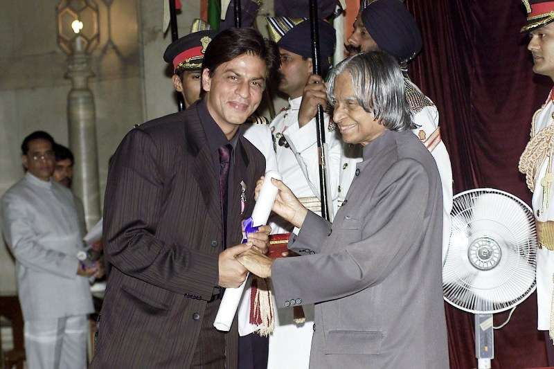 Shahrukh Khan Getting Padma Shri Award