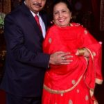 Sharad Lumba's Father Rajinder Paul Lumba and Mother Neelu Lumba