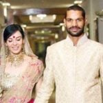 Shikhar Dhawan and Ayesha Mukherjee marriage pic