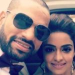 Shikhar Dhawan with his sister
