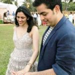 Akash Ambani and Shloka Mehta engagement photo
