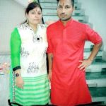 Shreevats Goswami with his sister