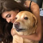 Shruti Sinha Dog Lover