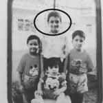 Siddharth Basrur with his siblings
