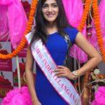 Simran Choudhary- Femina Miss India Telangana 2017