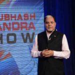 Subhash Chandra At His Show