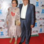 Subhash Chandra With His Wife Sushila Devi