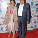 Subhash Chandra With His Wife Sushila Devi