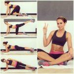Sue Duminy doing exercise