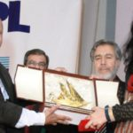 Teesta Setalvad Receiving Kuwait Muslim Award