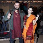 Tia Bajpai with Santosh Shukla