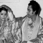 Yogeeta Bali With Her Husband Kishore Kumar