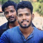 MD Nidheesh With His Brother