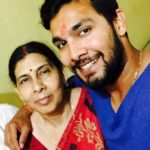 Ankit Sharma With His Mother