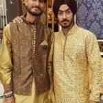 Anureet Singh With His Brother Rishabh Rathi