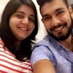 Ankit Sharma With His Sister Aditi Sharma