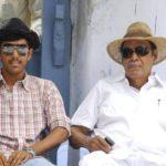 Abhiram Daggubati with his grandfather