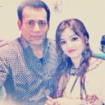Abu Salem With His Third Wife Sayed Bahar Kausar