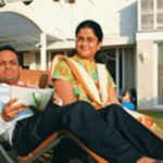 Kumar Birla's Sister Vasavadatta Bajaj With Her Husband