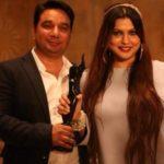 Ahmed Khan dedicating his award to his wife Shaira Ahmed Khan