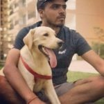 Amit Bhadana Dog Lover