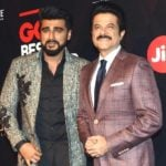 Anil Kapoor With His Nephew Arjun Kapoor