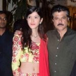 Anil Kapoor With His Niece Shanaya Kapoor
