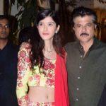 Anil Kapoor With His Niece Shanaya Kapoor