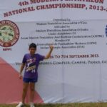 Anish Bhanwala At Pentathlon National Championship