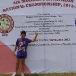 Anish Bhanwala At Pentathlon National Championship