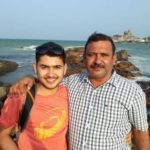 Anish Bhanwala With His Father Jagpal Bhanwala