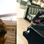 Ankita Konwar playing guitar and piano