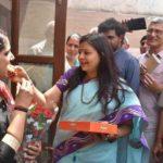 Anu Kumari with Kavita Jain