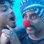 Ashwath Bhatt - part of the 'Red Nose Clown'