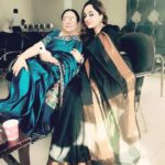 Deepika Singh Rajawat With Her Mother