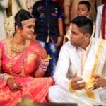 Suryakumar Yadav and Devisha Shetty marriage pic