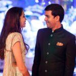 Diya Mehta with her husband Ayush Jatia