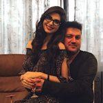 Elnaaz Norouzi with her father