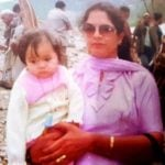 Ginni Chatrath childhood pic with her mother