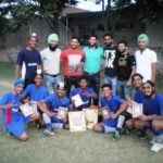 Harjeet Singh at Gopal Hockey Academy Kurali