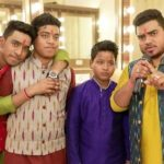 Hemant Brijwasi with his brothers
