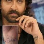 Hrithik Roshan's Tattoo On His Left Wrist
