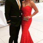 Imari Du Plessis with her husband