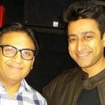 Jimit Trivedi with Dilip Joshi